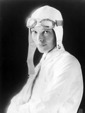 Amelia Earhart on Jet Pilot Costume Portrait Photo by  Movie Star News