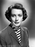 Deborah Kerr on a Blazer and Stripe Inside Photo by  Movie Star News
