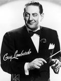 Guy Lombardo in Black With White Background Photo by  Movie Star News
