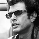 Jeff Goldblum Riding on Motorcycle With Hat Photo by  Movie Star News
