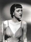 Dorothy Lamour Portrait in Black and White Photo by  Movie Star News