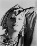 Greta Garbo wearing Indian Outfit Portrait Photo by  Movie Star News