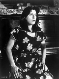 Anna Magnani wearing a Floral House Dress Photo by  Movie Star News