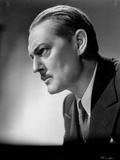 Lionel Barrymore Posed Side View in Black Suit Photo by  Movie Star News