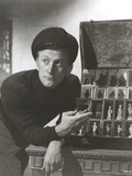 Kirk Douglas in Black Fit Sweater Portrait Photo by  Movie Star News