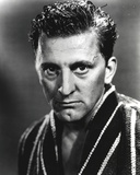 Kirk Douglas Black and White Close Up Portrait Photo by  Movie Star News