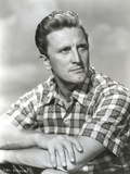 Kirk Douglas wearing Checkered Polo Portrait Photo by  Movie Star News