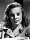 June Allyson wearing Formal Outfit Portrait Photo by  Movie Star News