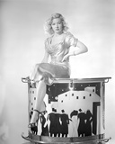 Portrait of Gloria Grahame in a Sexy Outfit Photo by  Movie Star News