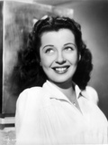 Gail Russell smiling in White Collared Shirt Photo by  Movie Star News