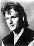 Patrick Swayze in Black Sleeveless Portrait Photo by  Movie Star News