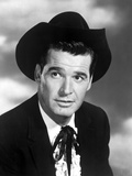 James Garner in Black With Black and White Photo by  Movie Star News