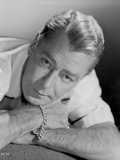 Alan Ladd Lying on the Bed in Close Up Portrait Photo by  Movie Star News