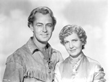 Alan Ladd posed with a Woman in Couple Portrait Photo by  Movie Star News