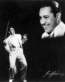 Cab Calloway in White With Black Background Photo by  Movie Star News
