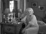 Jean Harlow Posed in White Silk Sheer Dress Photo by CS Bull