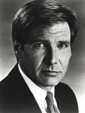 Harrison Ford in a Black Suit with a Necktie Photo by  Movie Star News