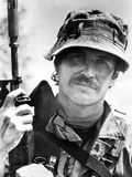 Tom Berenger in Military Uniform With Rifle Photo by  Movie Star News