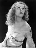 Fay Wray Posed in White Clothing Facing Up Photo by  Movie Star News