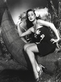 Dorothy Lamour standing in Classic with Hat Photo by  Movie Star News