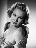 Virginia Mayo Posed in Black and White Portrait Photo by  Movie Star News
