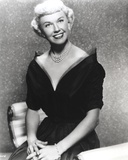 Doris Day Seated in Classic with Black Gown Photo by  Movie Star News