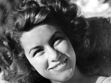 Linda Christian smiling in Classic Portrait Photo by  Movie Star News
