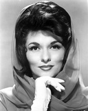 Nancy Kovack Portrait in Shawl with Gloves Photo by  Movie Star News