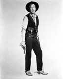 Lee Marvin Standing in Cowboy Suit With Pistol Photo by  Movie Star News