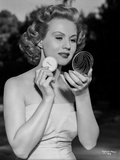 Virginia Mayo Powdering Face with Powder Pad Photo by  Movie Star News