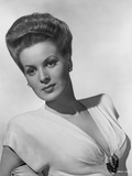 Maureen O'Hara Posed in Deep V-neck Dress Photo by E Bachrach