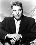 Burt Lancaster in Suit with Hands Crossing Photo by  Movie Star News