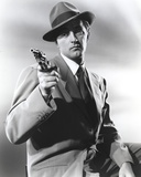 Robert Mitchum Posed in Tuxedo With Pistol Photo by  Movie Star News