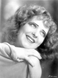 Clara Bow Looking Up in Close Up Portrait Photo by  Movie Star News