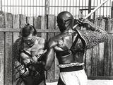 Kirk Douglas Blocked a Spear Fighting Scene Photo by  Movie Star News