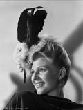 Rita Hayworth Looking Side Ways smiling Pose Photo by Robert Coburn