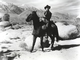 Kirk Douglas Ridding Horse in Cowboy Outfit Photo by  Movie Star News