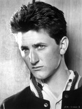 Sean Penn in Black Jacket Close Up Portrait Photo by  Movie Star News