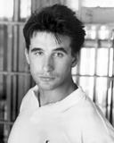 William Baldwin White polo shirt Portrait Photo by  Movie Star News