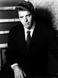 Burt Lancaster sitting in Suit and Necktie Photo by  Movie Star News