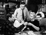 Marlon Brando Talking to a Girl with a Waiter Photo by  Movie Star News