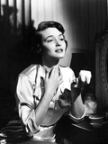 Patricia Neal on a Silk Dress and sitting Photo by  Movie Star News