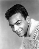 Johnny Mathis smiling in See Through Shirt Photo by  Movie Star News