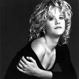 Meg Ryan Portrait wearing Sexy Black Blouse Photo by  Movie Star News