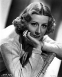 Irene Dunne on Knitted Full Sleeve Portrait Photo by  Movie Star News
