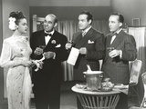 Bob Hope standing in Formal Wear Group Portrait Photo by  Movie Star News