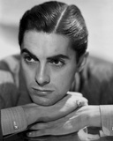 Tyrone Power 20 - Photograph Hollywood Print Foto af  Movie Star News