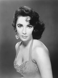 Elizabeth Taylor Portrait in Tank Top Dress Photo by  Movie Star News