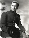Kirk Douglas Holding his Black Hat Portrait Photo by  Movie Star News