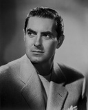 Tyrone Power 39 - Photograph Hollywood Print Photo by  Movie Star News